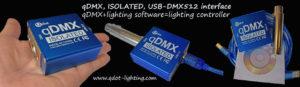 qDMX lighting consoles