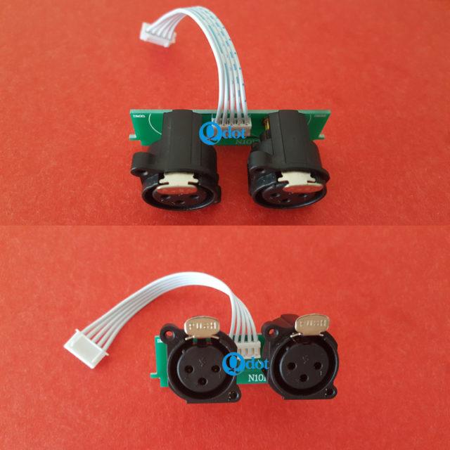 XLR socket PCB